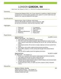 Samples Of Nursing Resumes by The 25 Best Nursing Resume Ideas On Pinterest Registered Nurse