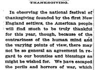 home food family giving nonboring thanksgiving reading chosen