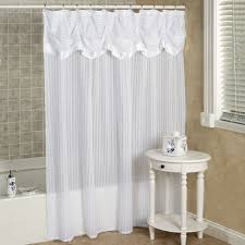 Touch Of Class Shower Curtains White Swag Shower Curtain Valance Shower Curtains Ideas