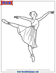 ballerina coloring pages kids coloring