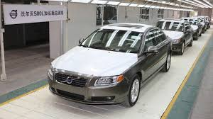 volvo official volvo launches new s80l in china