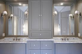 Grey Bathroom Cabinets Grey Bathroom Cabinets Transitional Bathroom Fitzgerald