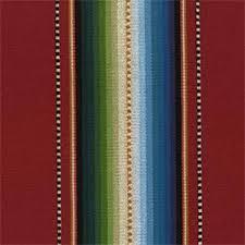 Upholstery Fabric Southwestern Pattern Ddr 22 Saltillo Classica Chili Red Southwestern Stripe Cotton