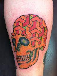 fresh new skull tattoo imgur