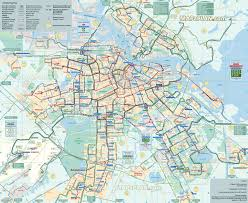 Metro Bus Map by Http Www Mapaplan Com Travel Map Amsterdam Netherlands Top