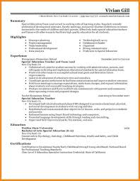 Special Education Teacher Resume Sample by Resume Examples Templates Team Leader Resume Sample Property Tax