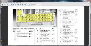 zafira fuse box diagram 2001 zafira wiring diagrams instruction