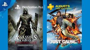 playstation plus u0027 august free games include just cause 3 and