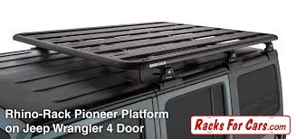 rhino jeep rhino rack backbone and pioneer platforms edmonton alberta