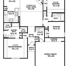 1 story floor plans floor plans without garage redbancosdealimentos org