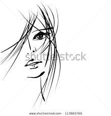 line art woman stock images royalty free images u0026 vectors