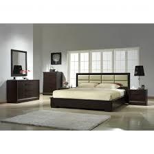 Bedroom Furniture Kingsize Platform Bed Platform Bed King With Headboard Queen Frame Wood Bedding Modern