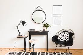 dc interior black and white contemporary home decoration disi