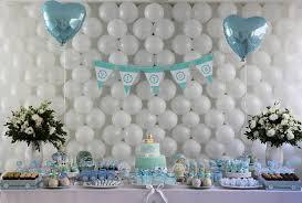 baby boy baby shower baby shower ideas boy heart shape balloon decoration cupcake candy