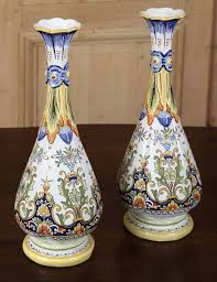 Antique China Vases 68 Best Rouen U0026 Desvres French Faience Images On Pinterest