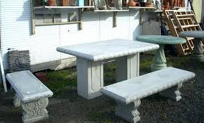 cement table and chairs concrete outdoor table and chairs rosekeymedia com