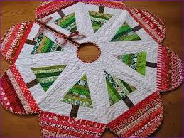 Quilted Christmas Tree Skirts To Make - christmas tree skirt patterns to sew home design ideas