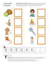 letter k worksheets sparks
