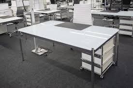 B Obedarf Schreibtisch Haller Glastisch Schreibtisch