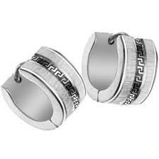 cool earrings for men aliexpress buy men hoop earrings 7mm gold plated stainless
