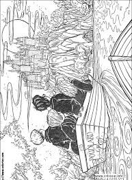 christmas coloring pages harry potter
