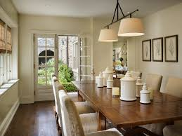 Drum Shaped Light Fixtures For Colonial Dining Room Decor With - Colonial dining rooms
