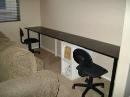 extra long desk table extra long computer desk interior design