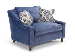 Grey Chair And A Half Design Ideas Navy Chair And A Half Tupper Woods