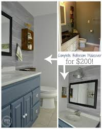 cheap bathroom remodeling ideas complete bathroom makeover for 200 budget bathroom remodel