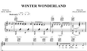 piano piano chords winter wonderland piano chords winter