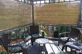accessories astonishing window treatment ideas using porch bamboo