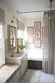 Polished Nickel Curtain Rods Ceiling Mounted Suspended Shower Rod Throughout With Regard To