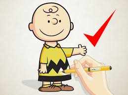 drawing peanuts characters articles wikihow