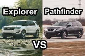 nissan pathfinder vs honda pilot benim otomobilim 2015 nissan pathfinder vs 2016 ford explorer