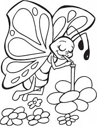 butterfly coloring pages free printable intended to really