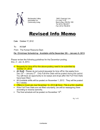 memo template for pages