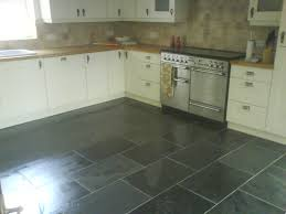 Tile Kitchen Floor Ideas Black Slate Floor Tiles Kitchen Ideas Picture And Innovative Tile
