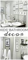 White Bathroom Decor - best 25 kid bathroom decor ideas on pinterest half bathroom