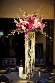 Tall Metal Vases For Wedding Centerpieces by 178 Best Candels And Centerpieces Images On Pinterest