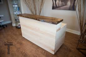 Cheap Salon Reception Desks by