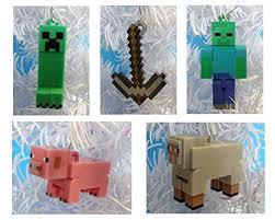 minecraft ornaments featuring 5 minecraft