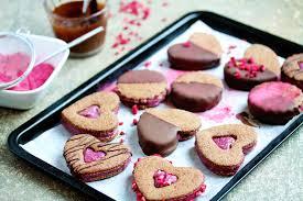 chocolate raspberry sandwich cookies uk health blog nadia u0027s