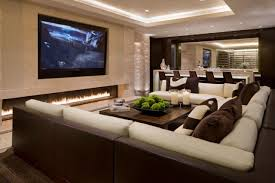 Home Design Ideas Large Size Of Living Roomfancy Living Room - Living room with home theater design