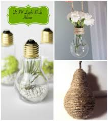diy light bulb ideas diy decorator