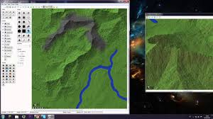 World Mountain Ranges Map by Worldpainter 07 Giant Mountain Range Youtube