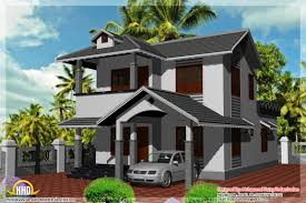 2 Storey House Plans 3 Bedrooms 9 2 Storey House Design With 3d Floor Plan House Plan Kerala