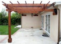 finally a way to attach a pergola to our house w out taking away