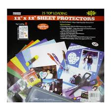 photo album page inserts pioneer bulk sheet protectors for 12 x 12 pages pack