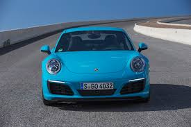 teal porsche 2017 porsche 911 first drive review motor trend