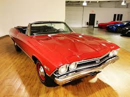 1968 chevrolet chevelle ss l78 convertible